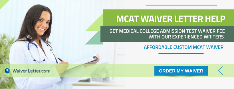 mcat registration fee waiver writing help