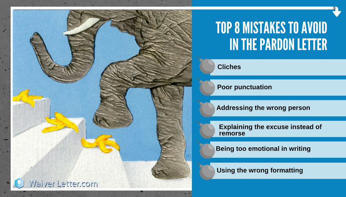 how to write a pardon letter without mistakes