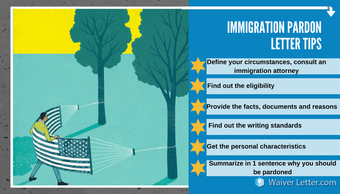 immigration pardon letter advice