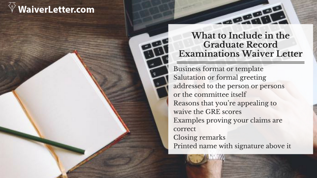 writing gre waiver request letter